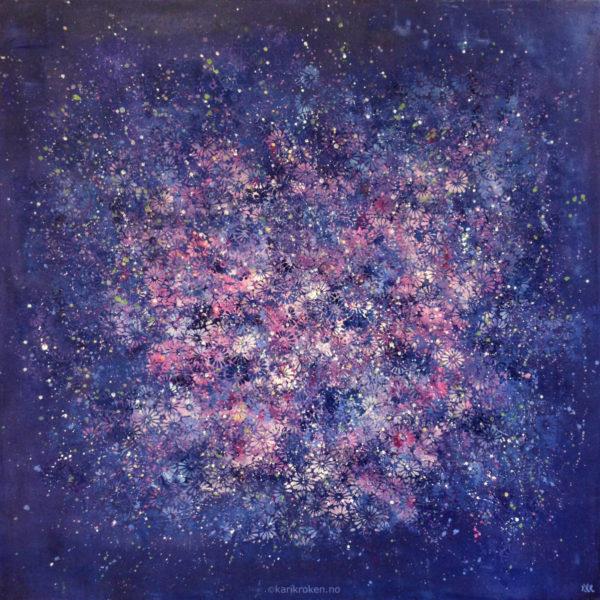 80x80 cm, deep edge canvas. Kr. 3000,-. SOLGT!!