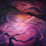100x100 cm, akryl på deep edge canvas. Kr. 7000,-. SOLGT!!